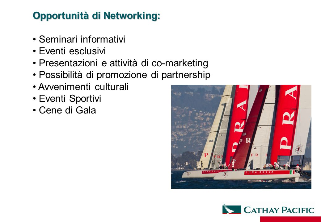 Opportunità di Networking: