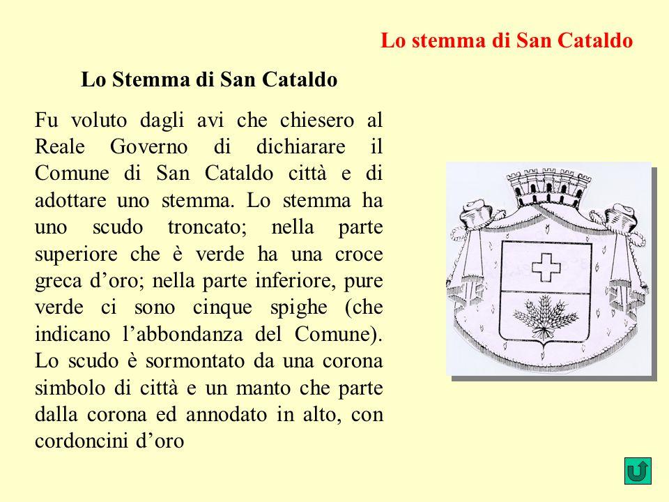 Lo Stemma di San Cataldo