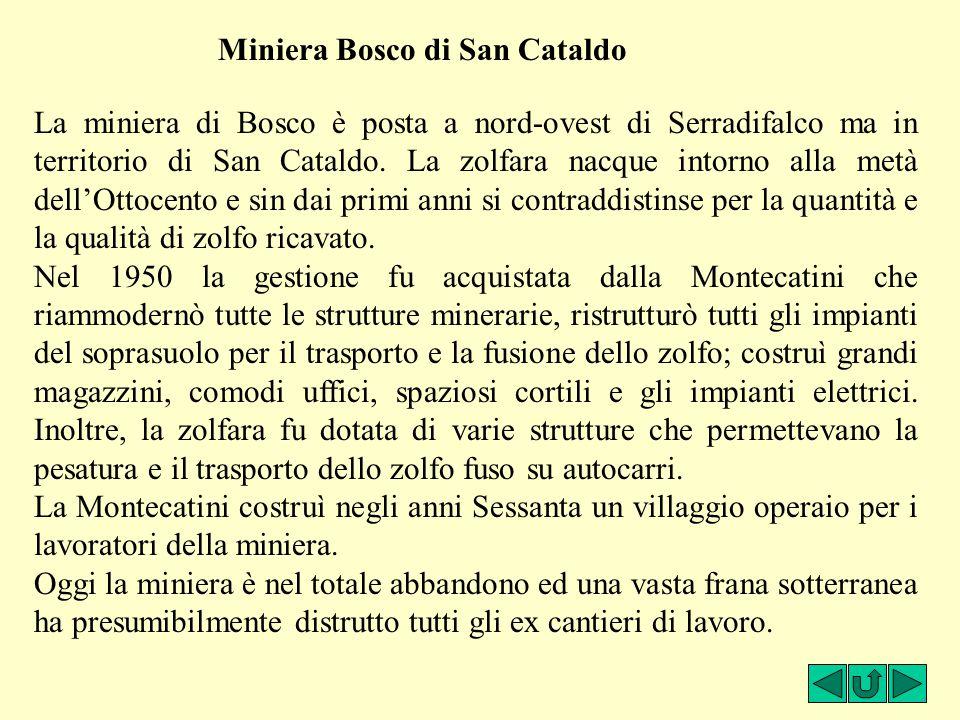 Miniera Bosco di San Cataldo