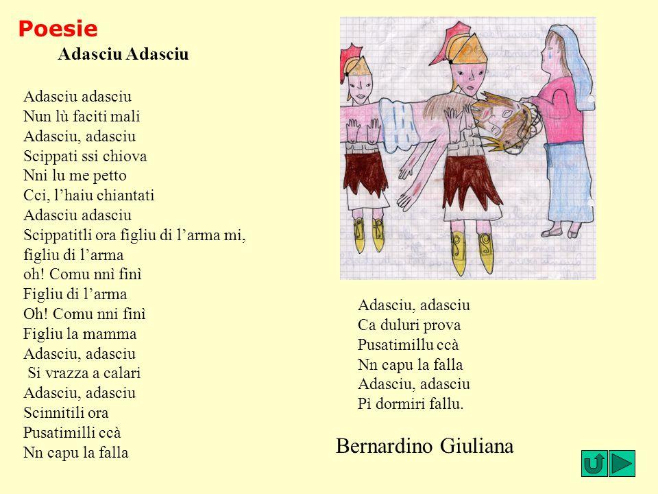 Poesie Bernardino Giuliana Adasciu Adasciu Adasciu adasciu