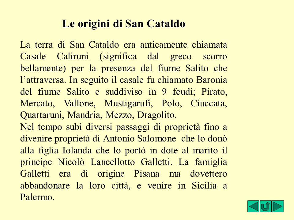 Le origini di San Cataldo