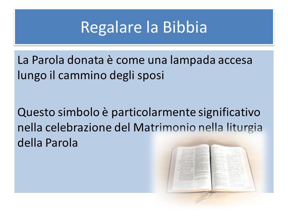 Regalare la Bibbia