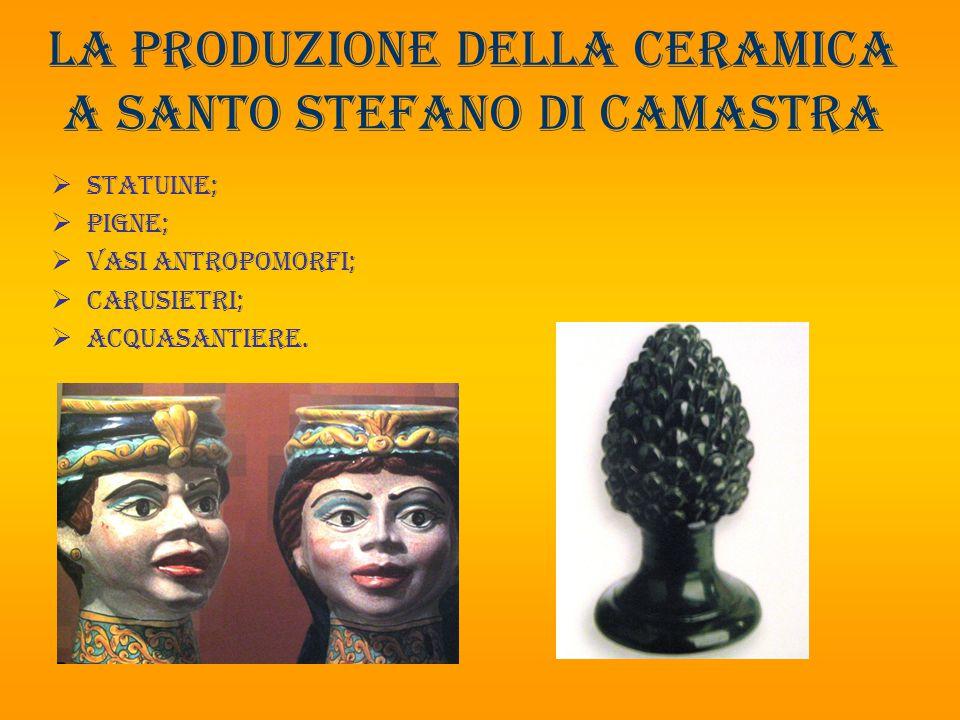 La produzione della ceramica a santo Stefano di camastra
