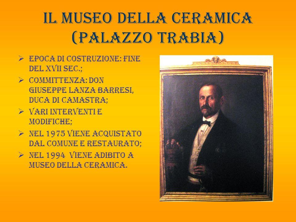 Il museo della ceramica (palazzo trabia)