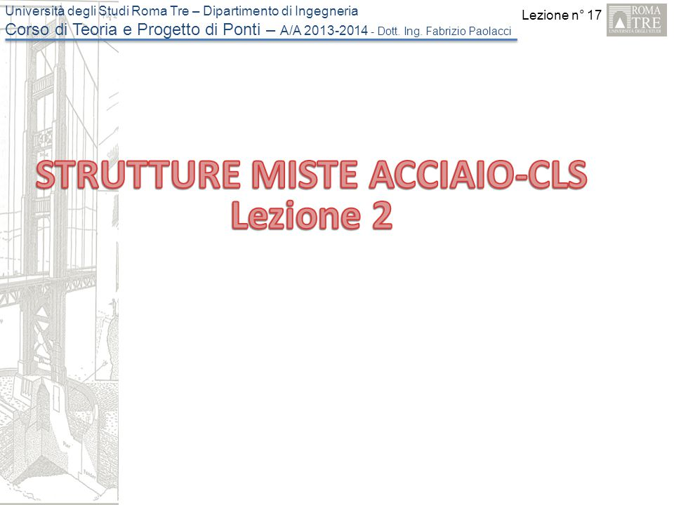 STRUTTURE MISTE ACCIAIO-CLS
