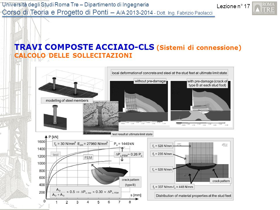 TRAVI COMPOSTE ACCIAIO-CLS (Sistemi di connessione)