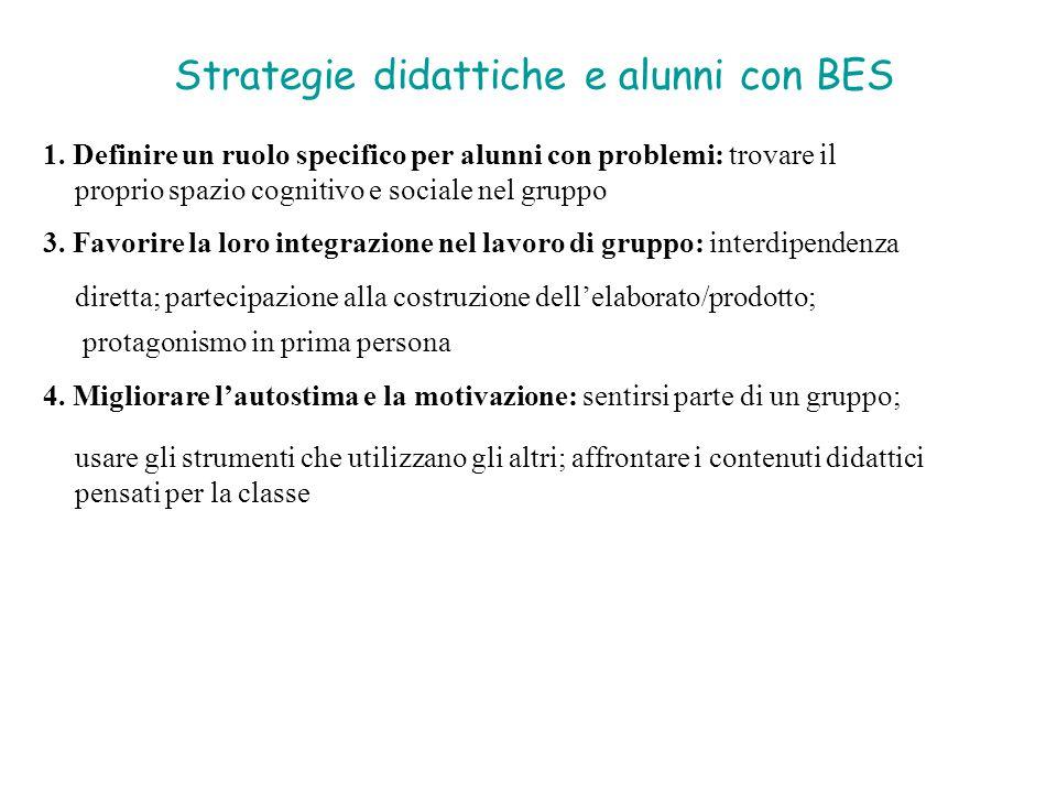 Strategie didattiche e alunni con BES