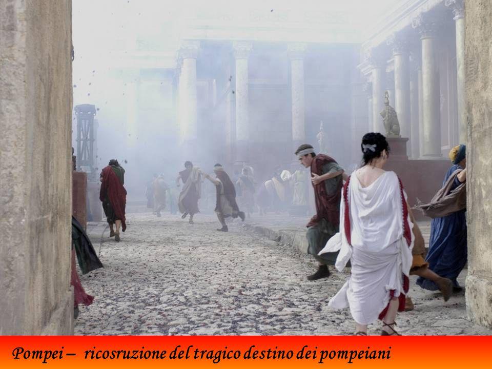 Pompei – ricosruzione del tragico destino dei pompeiani