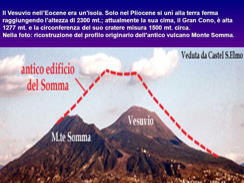 Il Vesuvio nell'Eocene era un isola