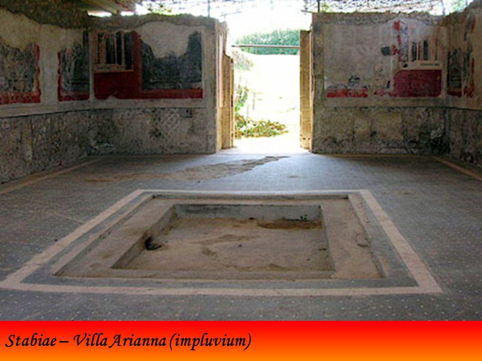 Stabiae – Villa Arianna (impluvium)
