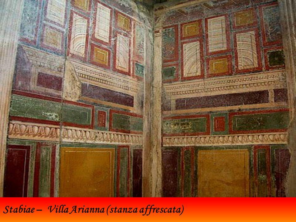 Stabiae – Villa Arianna (stanza affrescata)