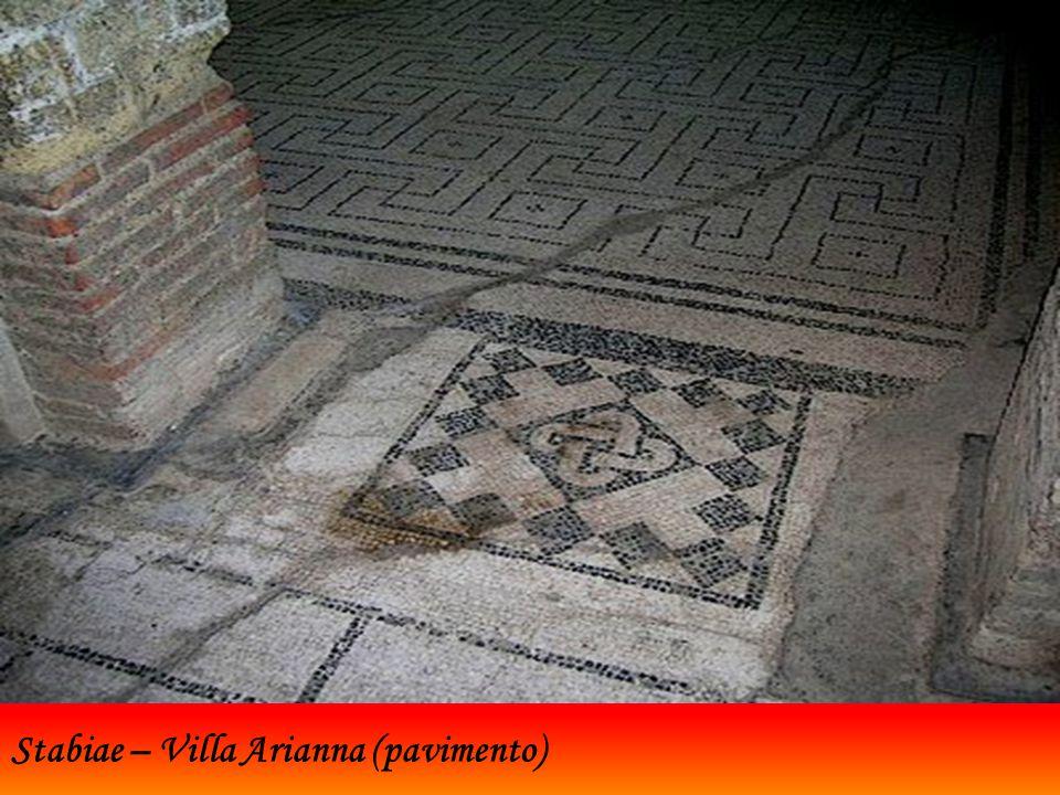 Stabiae – Villa Arianna (pavimento)