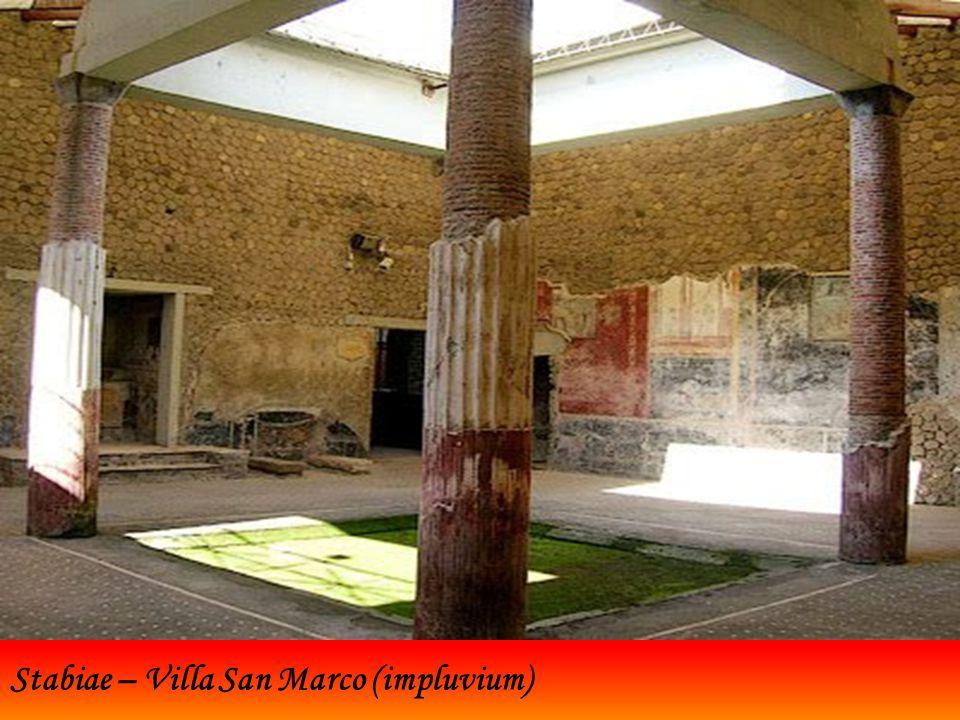 Stabiae – Villa San Marco (impluvium)