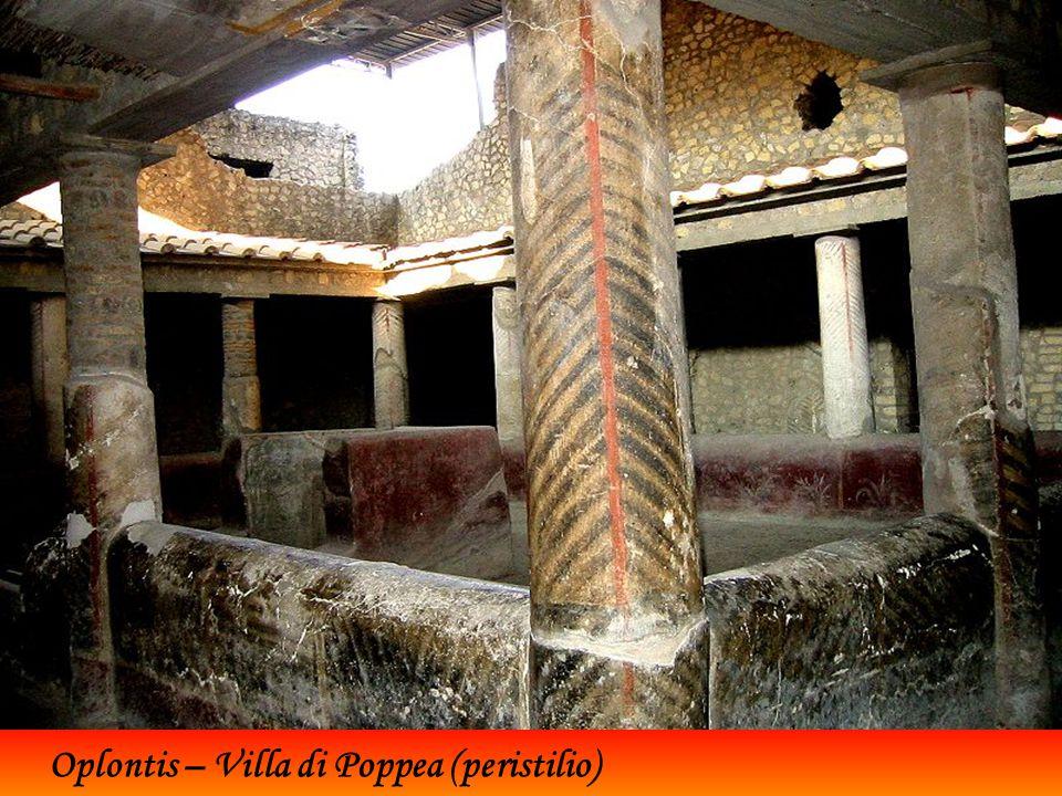 Oplontis – Villa di Poppea (peristilio)
