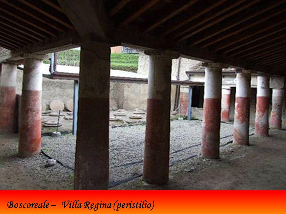 Boscoreale – Villa Regina (peristilio)