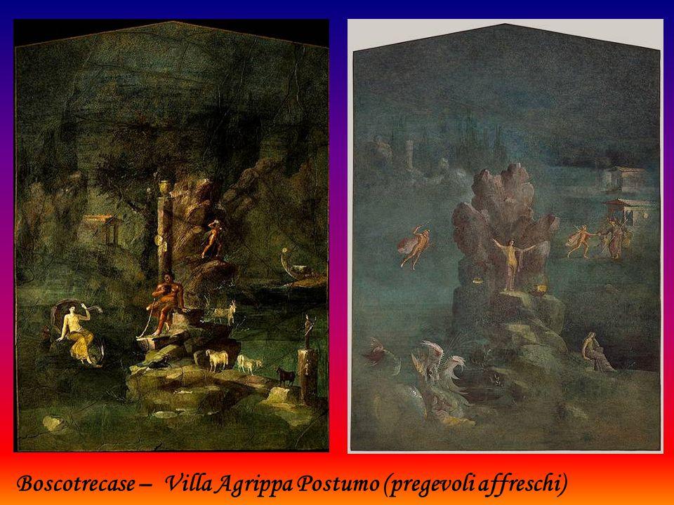 Boscotrecase – Villa Agrippa Postumo (pregevoli affreschi)