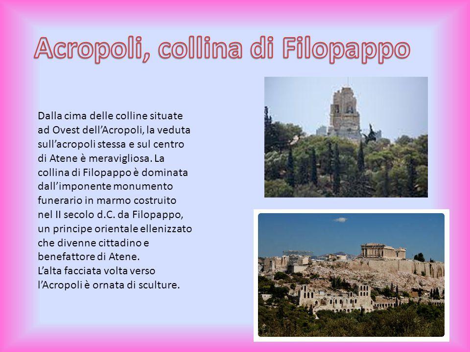 Acropoli, collina di Filopappo