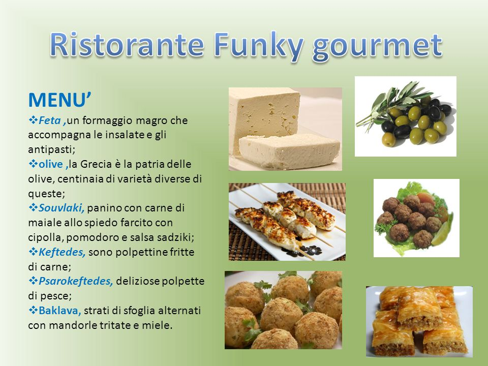 Ristorante Funky gourmet