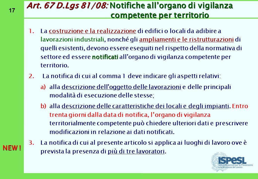 Art. 68 D.Lgs 81/08: Sanzioni per il datore di lavoro e il dirigente