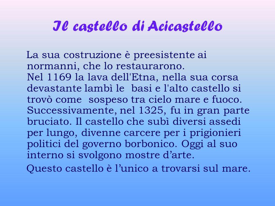 Il castello di Acicastello