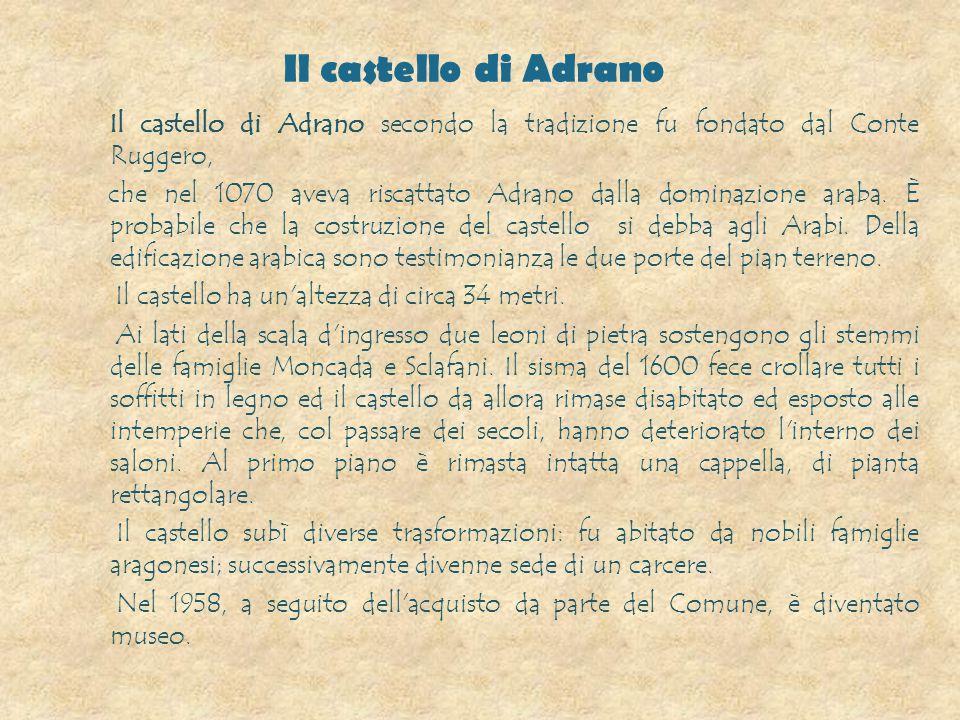 Il castello di Adrano