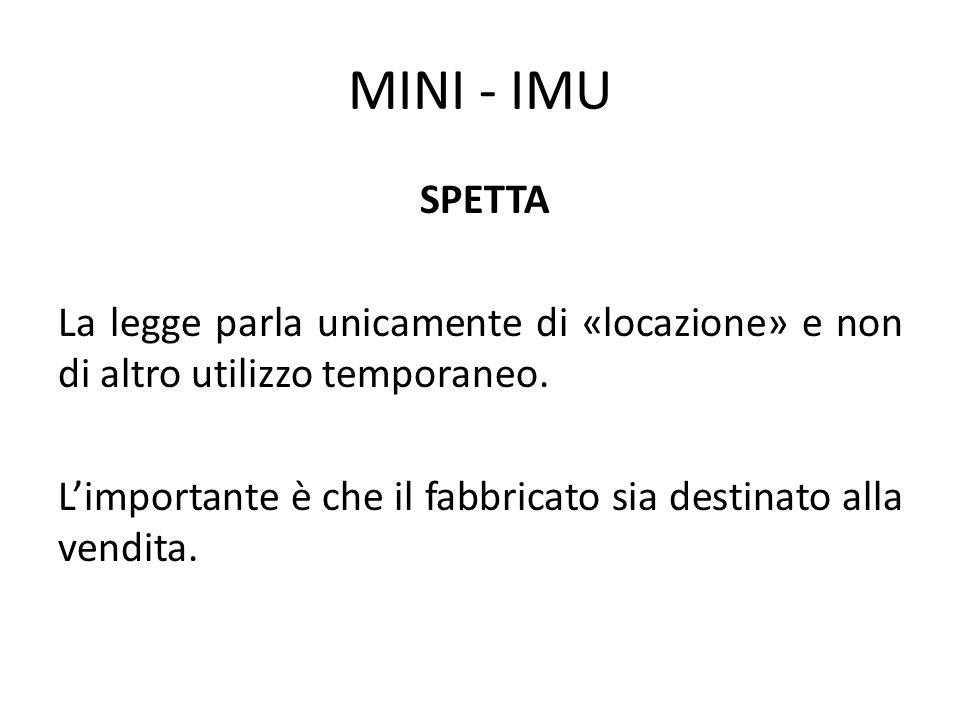 MINI - IMU