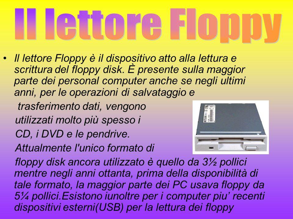 Il lettore Floppy