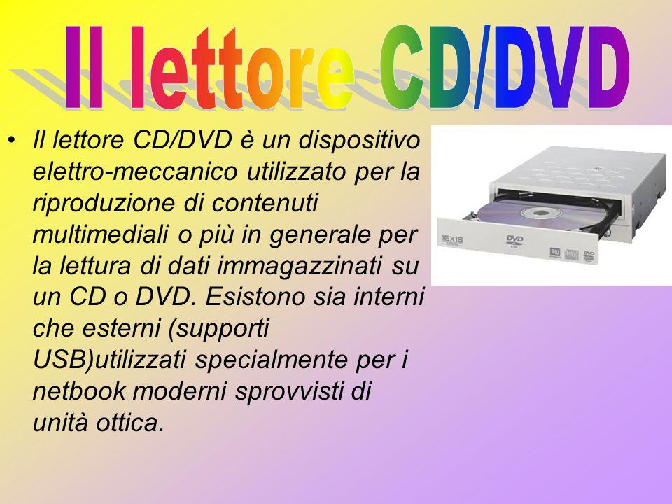 Il lettore CD/DVD