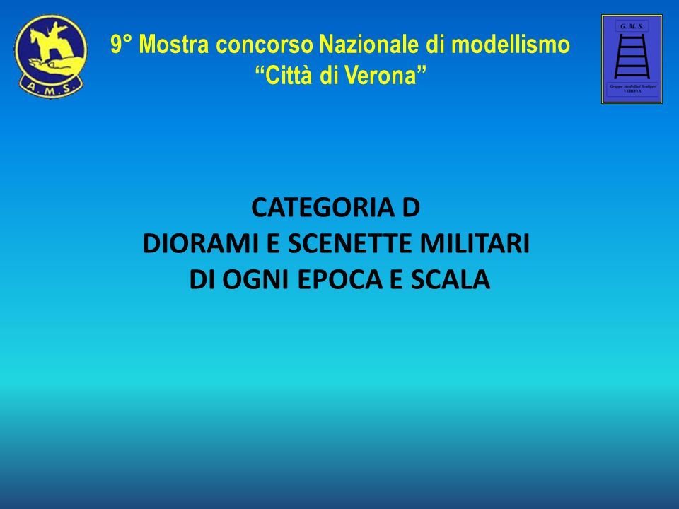 9° Mostra concorso Nazionale di modellismo DIORAMI E SCENETTE MILITARI