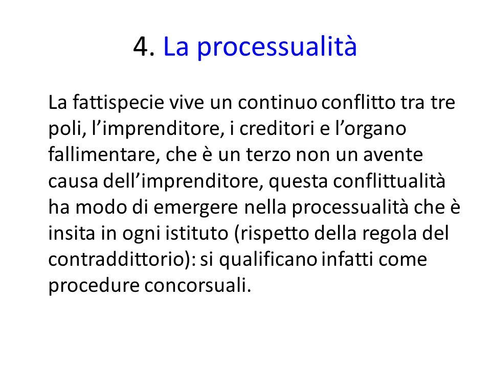 4. La processualità