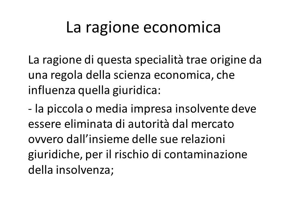 La ragione economica