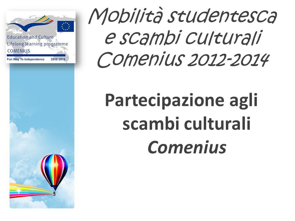 Mobilità studentesca e scambi culturali Comenius 2012-2014