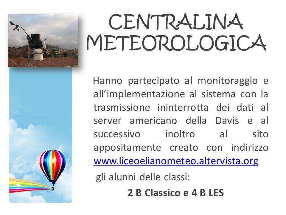 CENTRALINA METEOROLOGICA