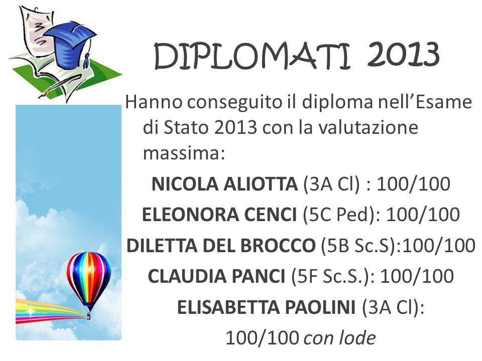DIPLOMATI 2013
