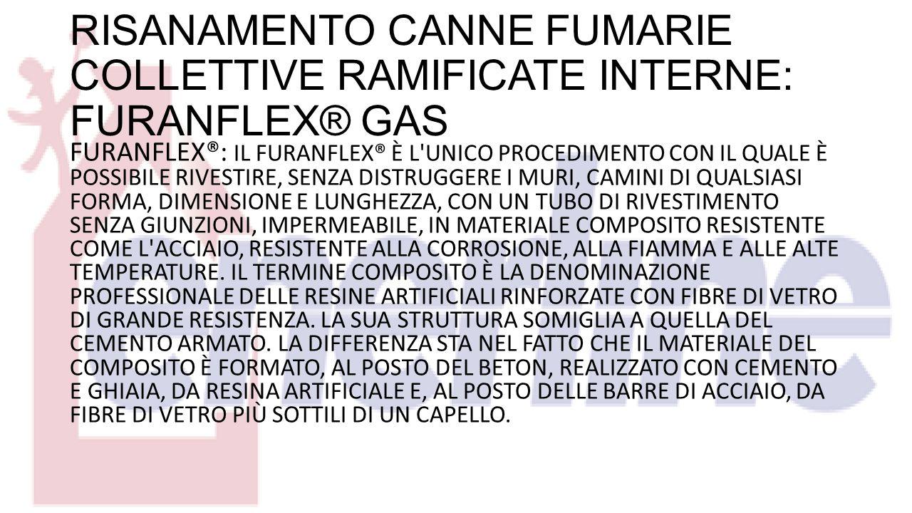 RISANAMENTO CANNE FUMARIE COLLETTIVE RAMIFICATE INTERNE: FURANFLEX® GAS