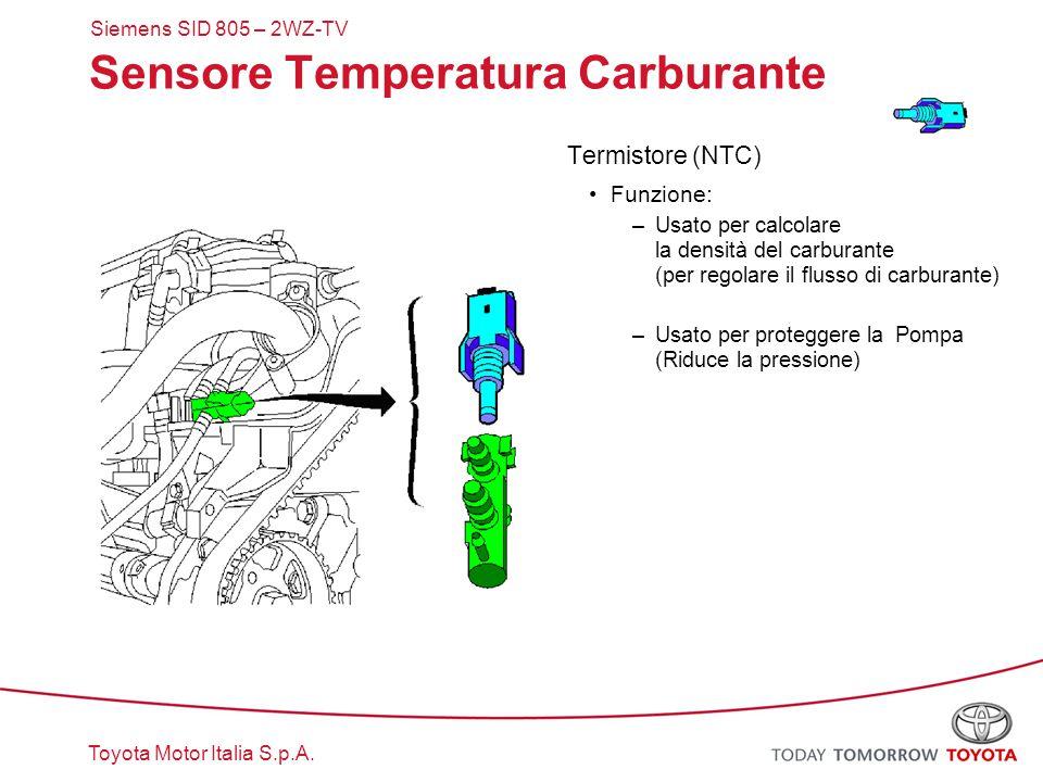 Sensore Temperatura Carburante