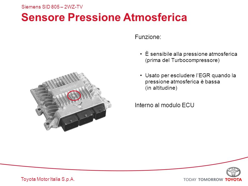 Sensore Pressione Atmosferica