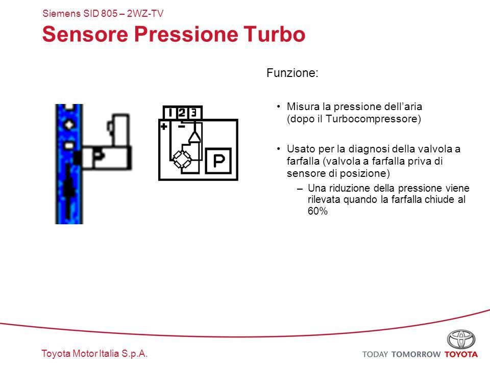 Sensore Pressione Turbo