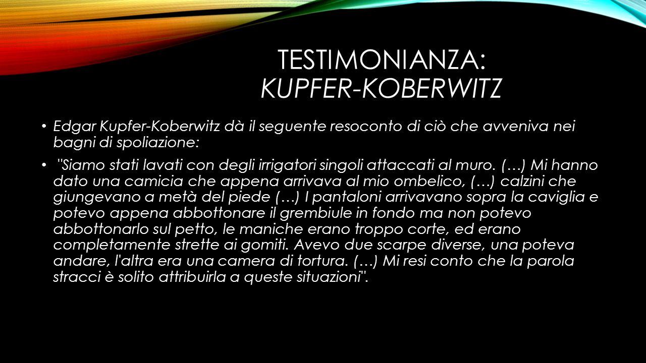 Testimonianza: Kupfer-Koberwitz