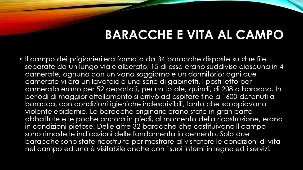 BARACCHE E VITA AL CAMPO