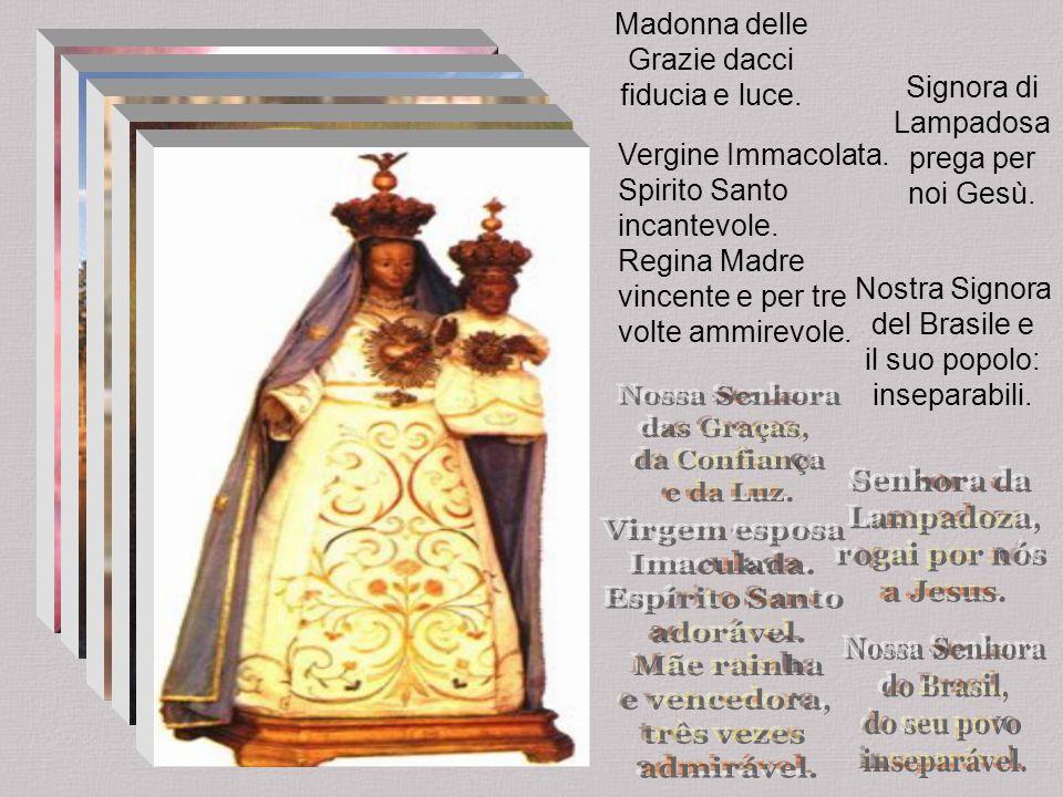 Madonna delle Grazie dacci fiducia e luce.