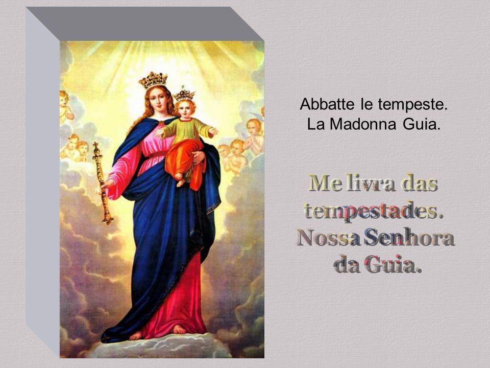 Abbatte le tempeste. La Madonna Guia.