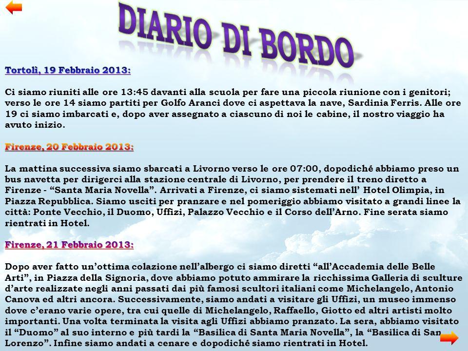 Diario di bordo Tortolì, 19 Febbraio 2013: