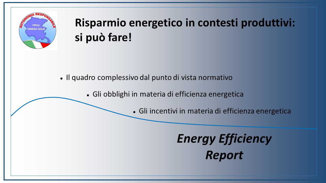 Energy Efficiency Report