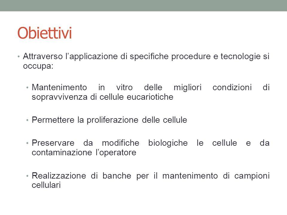 Obiettivi Attraverso l'applicazione di specifiche procedure e tecnologie si occupa: