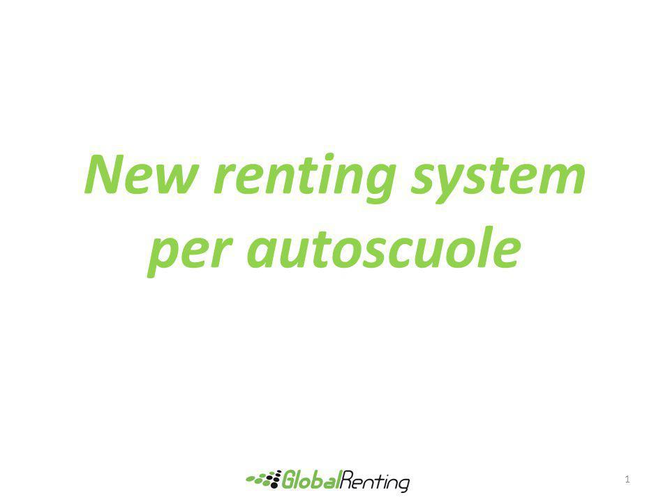 New renting system per autoscuole