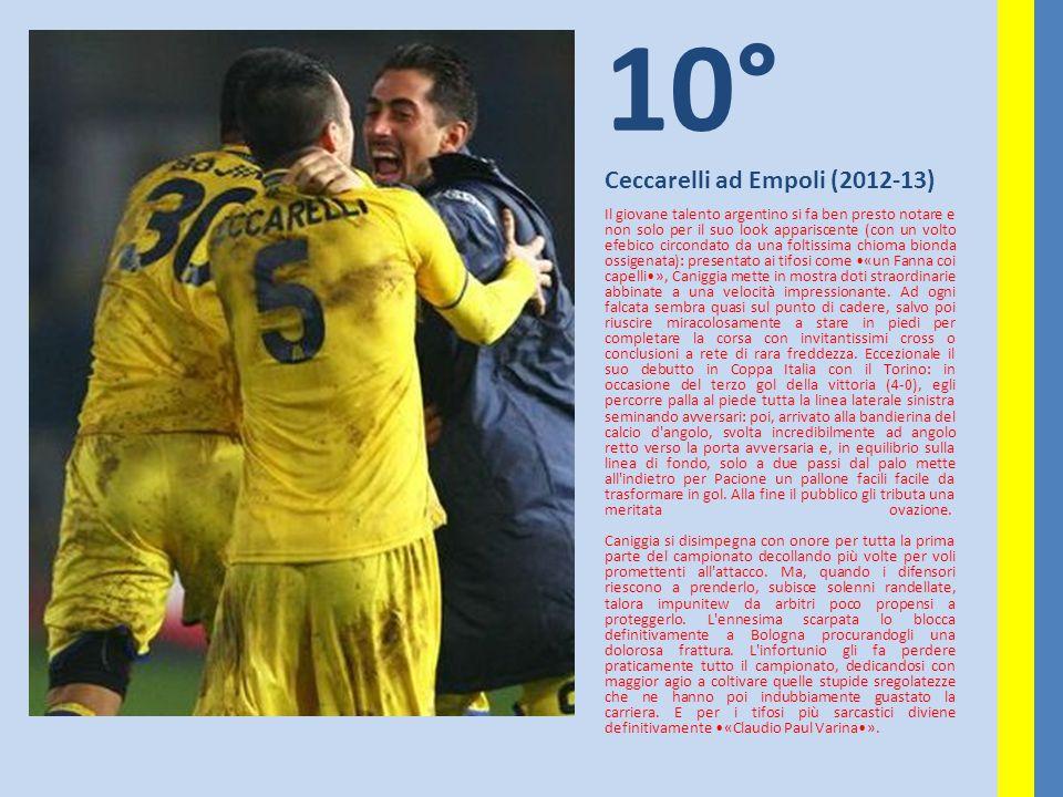 10° Ceccarelli ad Empoli (2012-13)