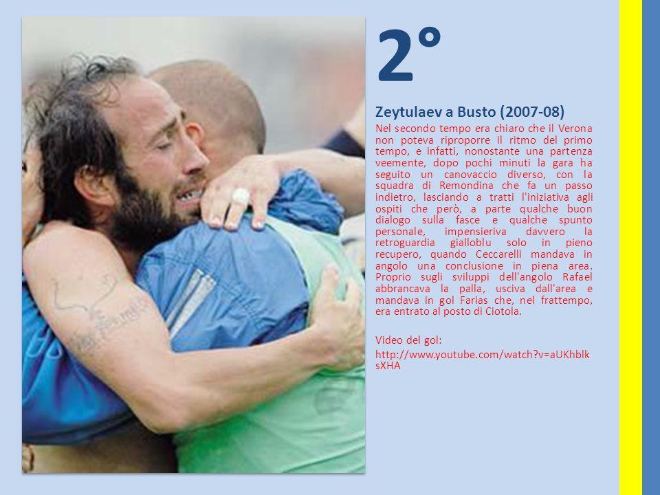 2° Zeytulaev a Busto (2007-08)