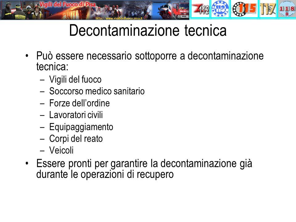 Decontaminazione tecnica