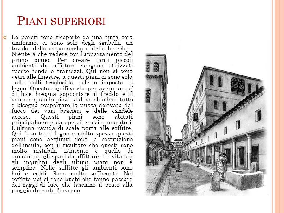La casa romana a cura di annalisa ferrara martina for Piccoli piani di casa di un livello